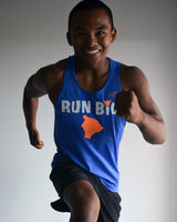 M's Run Big NB Ice 2.0 Singlet - Pacific/Pigment