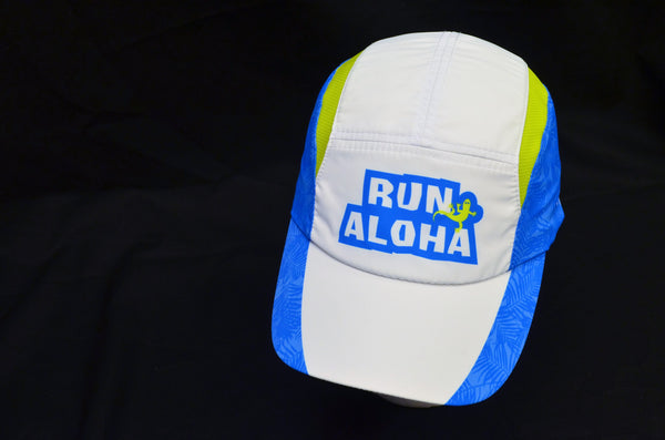 Run Aloha BOCO Hat - White/Blue