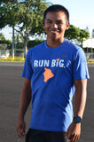 M's NB Run Big Heathered SS  - Team Royal