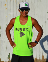 M's Run Big Inspire Singlet - Green