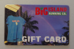 Big Island Running Co. Gift Card