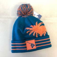 Run Big Pom-Pom Beanie