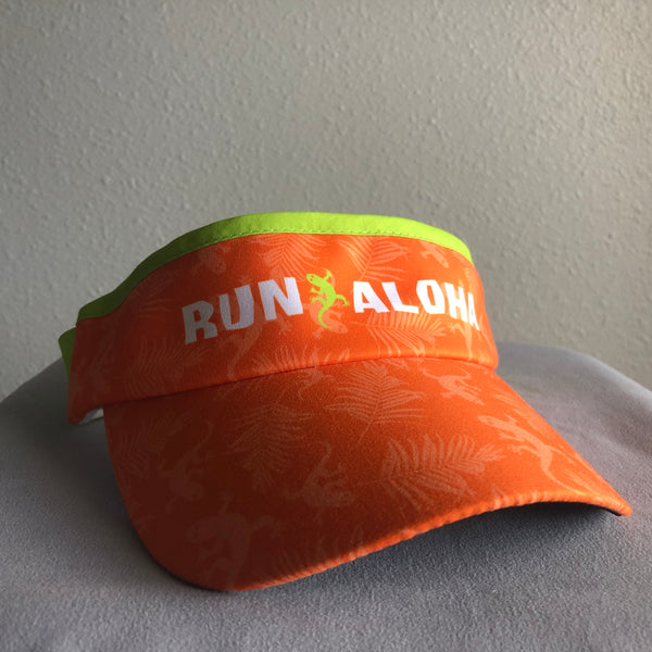 Run Aloha BOCO Visor - Orange