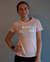 W's Run Aloha Impact Run SS - Peach Soda