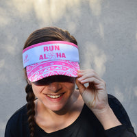Run Aloha SuperVisor - White+Pink