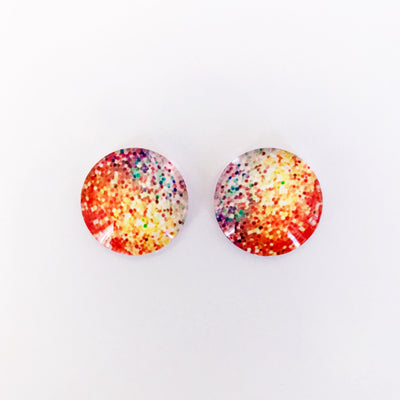 The 'Isabella' Glass Earring Studs