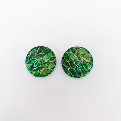 The 'Emily' Glass Earring Studs