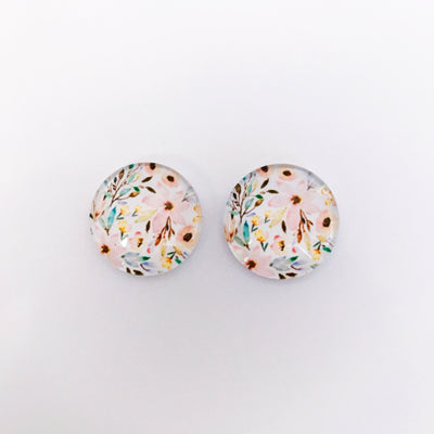 The 'Reagan' Glass Earring Studs
