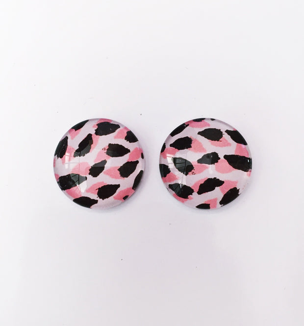 The 'Demi' Glass Earring Studs