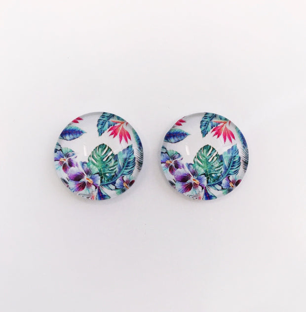 The 'Susan' Glass Earring Studs