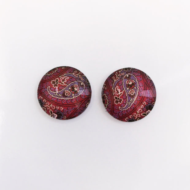 The 'Layla' Glass Earring Studs