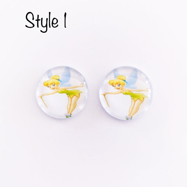 The 'Tinkerbell' Glass Earring Studs