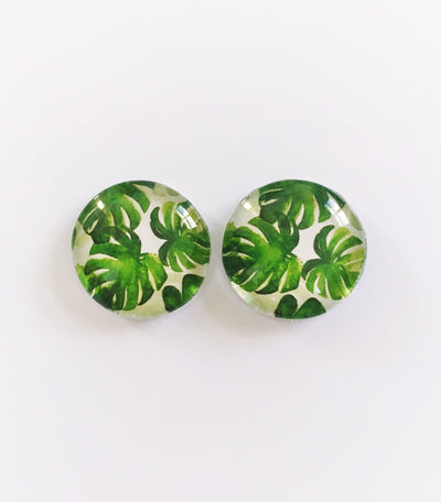 The 'Briar' Glass Earring Studs