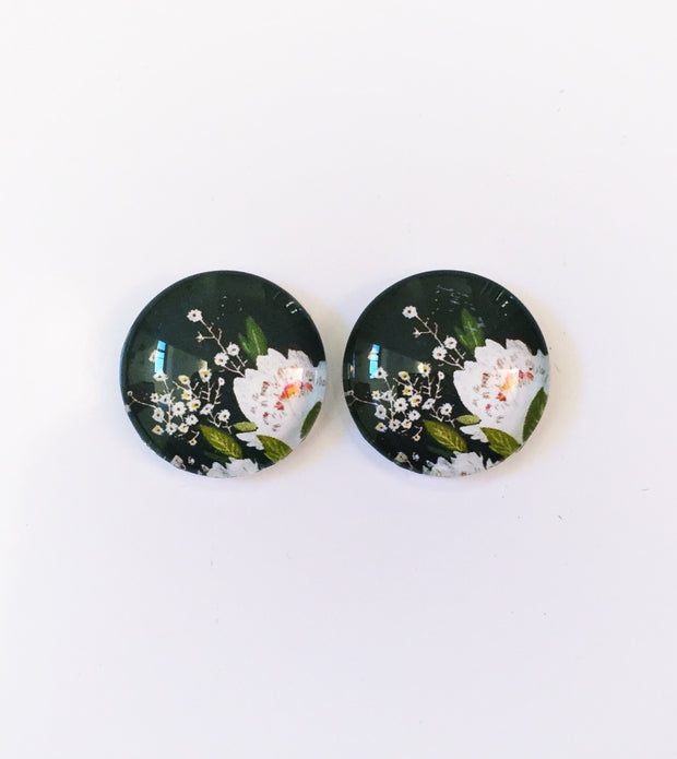The 'Claire' Glass Earring Studs
