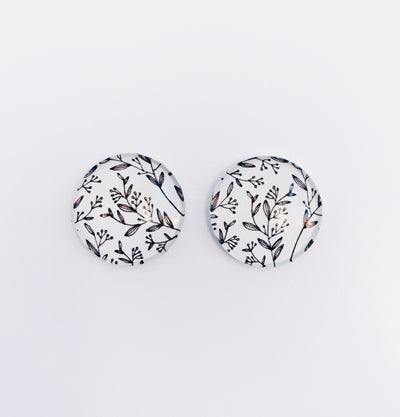 The 'Savannah' Glass Earring Studs