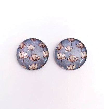 The 'Akira' Glass Earring Studs
