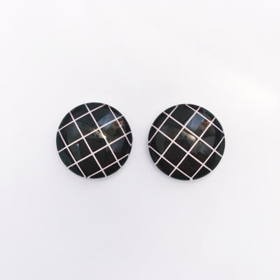 The 'Blair' Glass Earring Studs