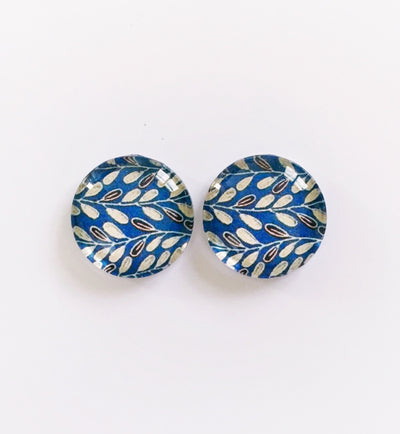 The 'Octavia' Glass Earring Studs