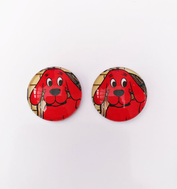 The 'Clifford' Glass Earring Studs