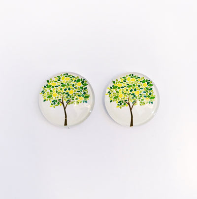 The 'Clarissa' Glass Earring Studs