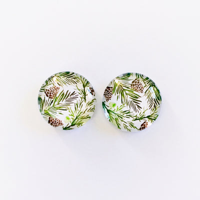 The 'Kelly' Glass Earring Studs
