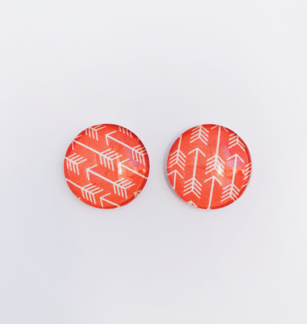 The 'Liona' Glass Earring Studs