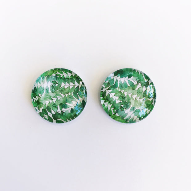 The 'Lillyanna' Glass Earring Studs