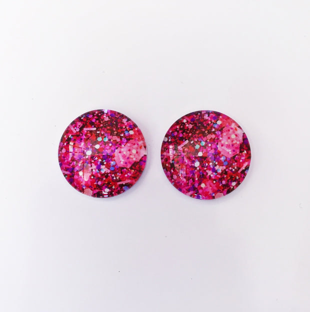 The 'Erika' Glass Earring Studs