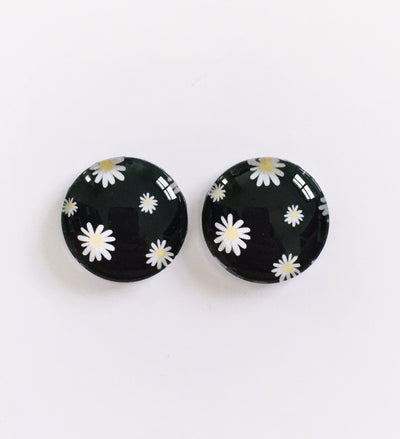 The 'Alexa' Glass Earring Studs