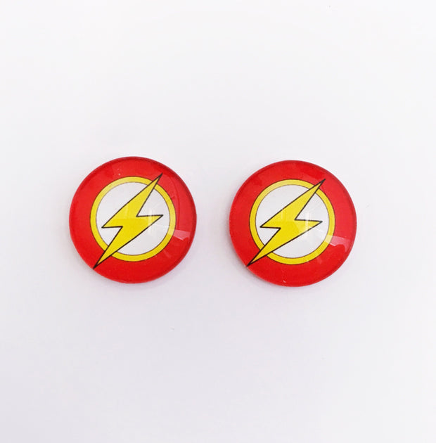 The 'Flash' Glass Earring Studs
