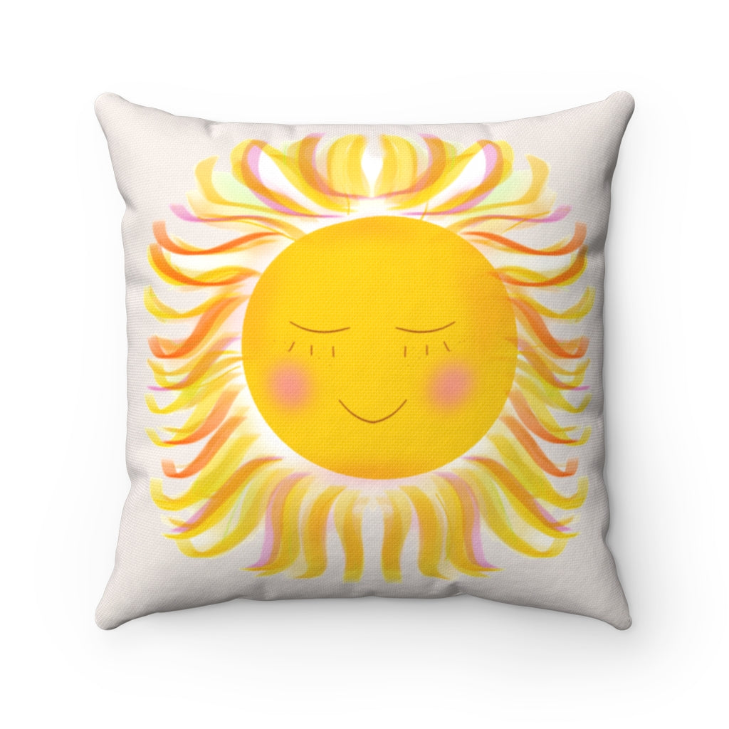 Sunshine Square Pillow