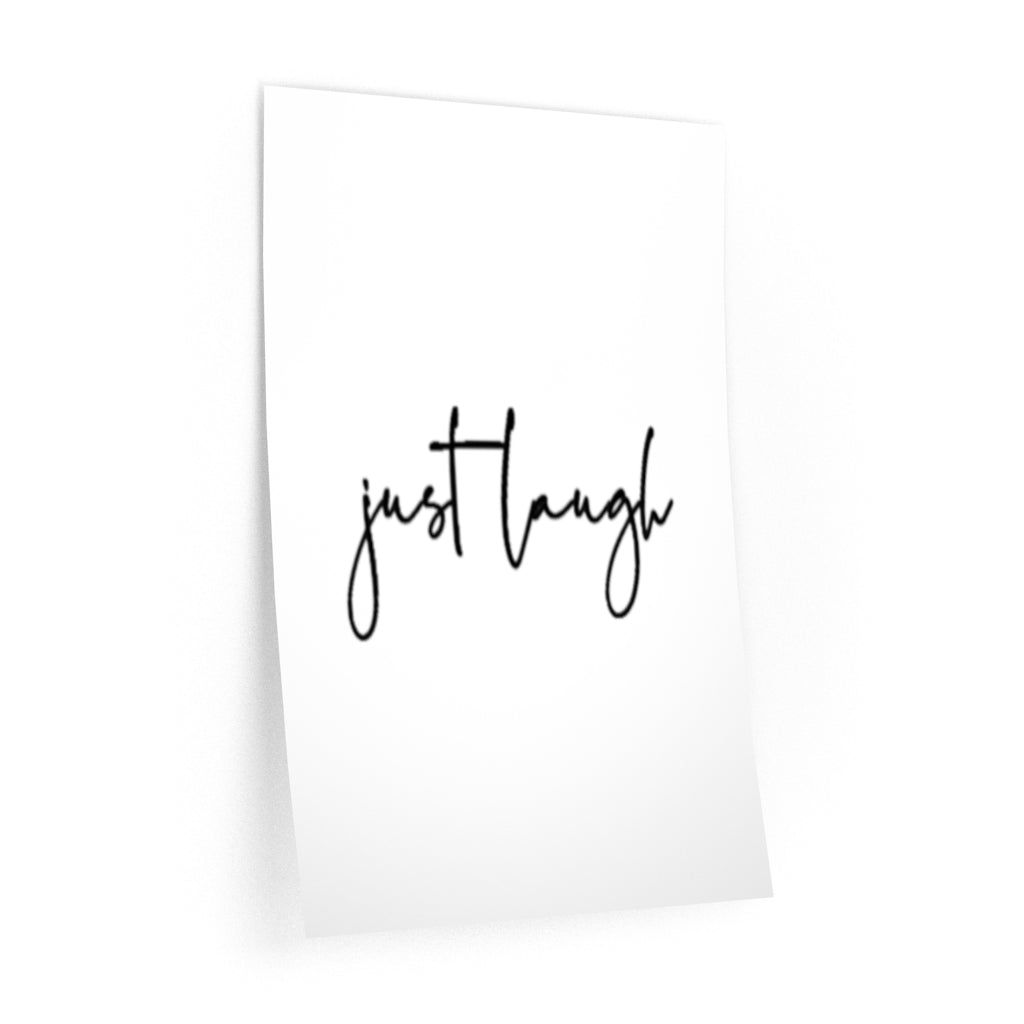 Just laugh  Wall Decal