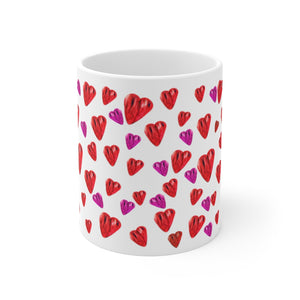Heart Splash Mug 11oz