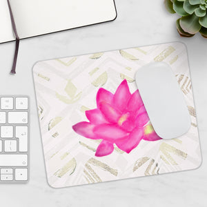 Lotus Abstract Mousepad