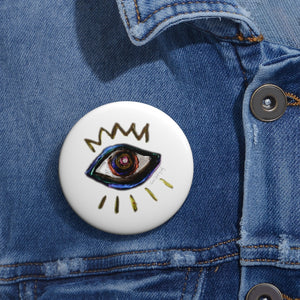 Third Eye view Pin Button