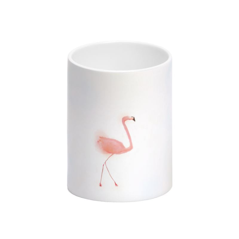 Pink Flamingo Bone China Mug