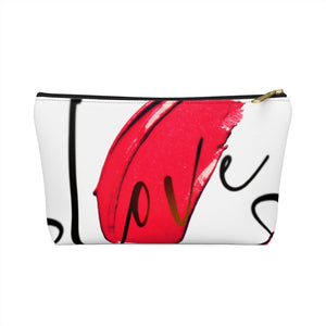 Love Accessory Pouch w T-bottom