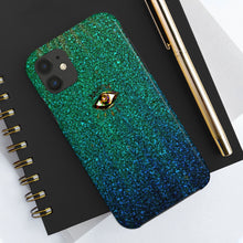 Load image into Gallery viewer, Third Eye Ombre Glitter Phone Case