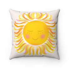 Load image into Gallery viewer, Sunshine Square Pillow