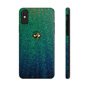 Third Eye Ombre Glitter Phone Case