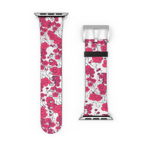 Cherry Blossoms Watch Band