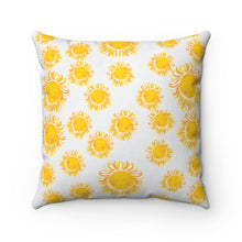 Load image into Gallery viewer, Sunshine Blast Square Pillow