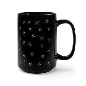 Third Eye Cluster Black Mug 15oz