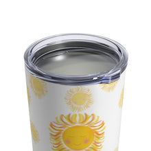 Load image into Gallery viewer, Sun with keep shining bright quote Coffee Tumbler 10oz