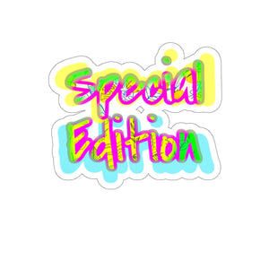 Special Edition Laptop Decal  Sticker