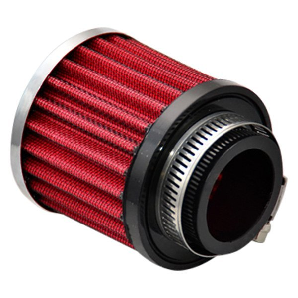 "Vibrant Performance 1"" Crankcase Breather Filter w/ Chrome Cap"