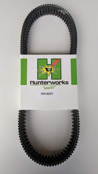 Hunterworks Severe Duty CVT Drive Belt for 2016-2020 Polaris RZR XP Turbo/ Turbo S/ RS1