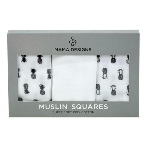 Muslin Squares - 3 Pack