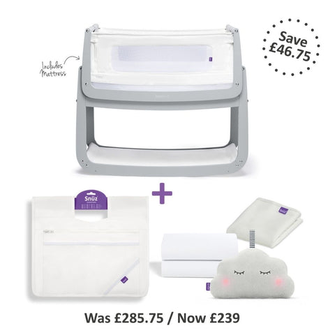 SnuzPod 4 Bedside Crib - Bundle