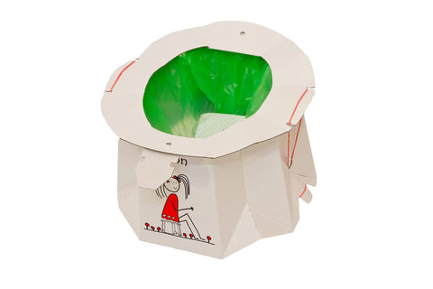 Tron Disposable Travel Potty